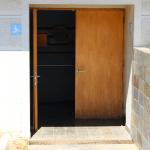 Acceso para personas con discapacidad en Museo de la Araucanía. Se ingresa al primer piso.