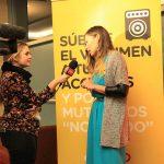 María José Escudero conversa con TVN.