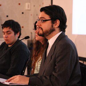 Diego Pozo de la UDP, expone su experiencia de la discapacidad en la universidad.