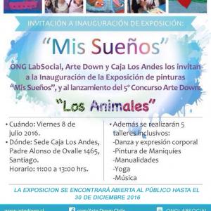 Afiche informativo sobre la exposición.