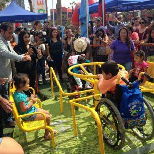 Juegos infantiles inclusivos
